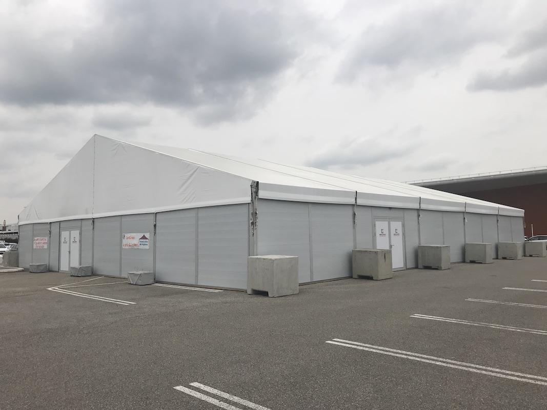 hangar stockage bardage PVC