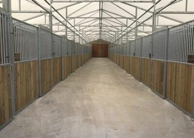 Couloir intérieur DEMOBARN Cheval Liberté Covers
