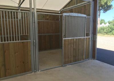 Porte pour chevaux DEMOBARN Cheval Liberté Covers