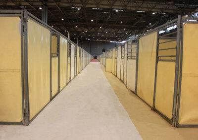 Boxes Olympic au Salon du Cheval de Paris 2019- Cheval Liberté Covers